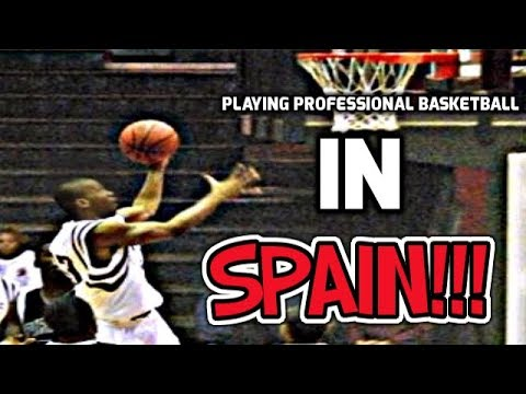PLAYING PROFESSIONAL BASKETBALL IN SPAIN! (+ FITNESS CHANNEL!) 1ST VLOG!!!