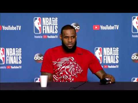 LeBron James & Kevin Love Interview | NBA Finals Game 3 Media Availability