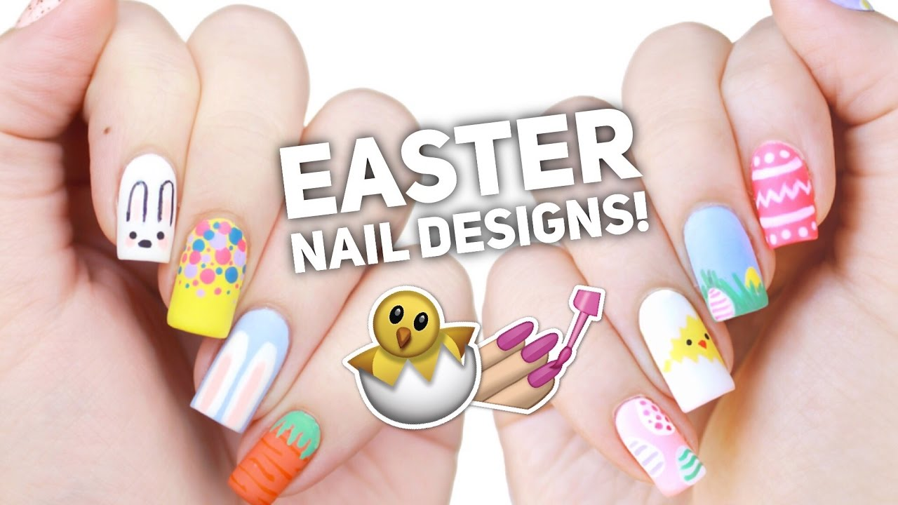 10 Easy Easter Nail Art Designs: ... - 10 Easy Easter Nail Art Designs: The Ultimate Guide! - YouTube