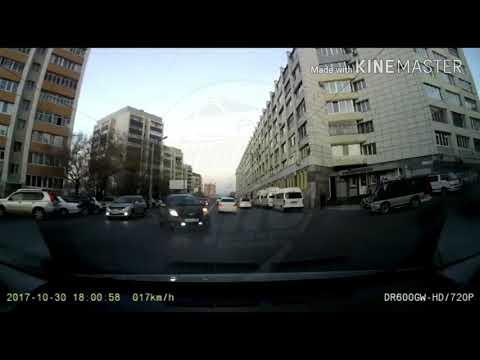 Владивосток. ДТП на Партизанском проспекте. 30 октября.