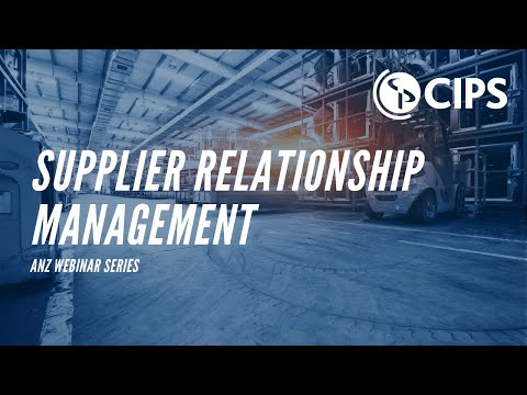 7 Tips for Successful Supplier Relationship Management | CIPS