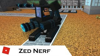 Another Triumph but with a Nerfed Zed | Tower battles [ROBLOX]