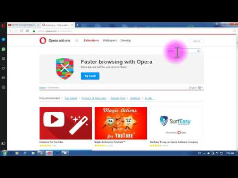 How to install Youtube Video downloader Extension in opera speak khmer