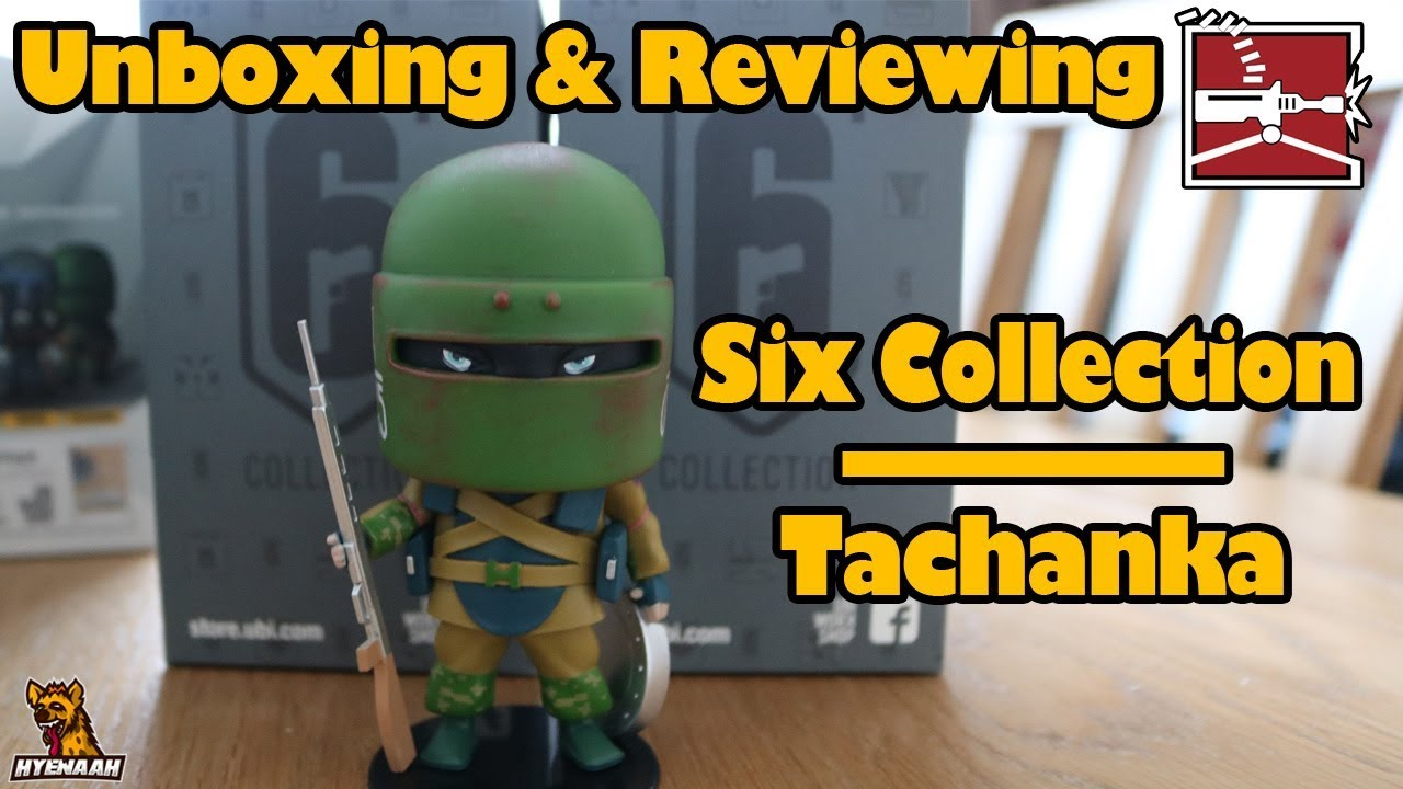 R6 Real Life Tachanka chibi Figure - Unboxing and Reviewing Six Collection  (Series 1)