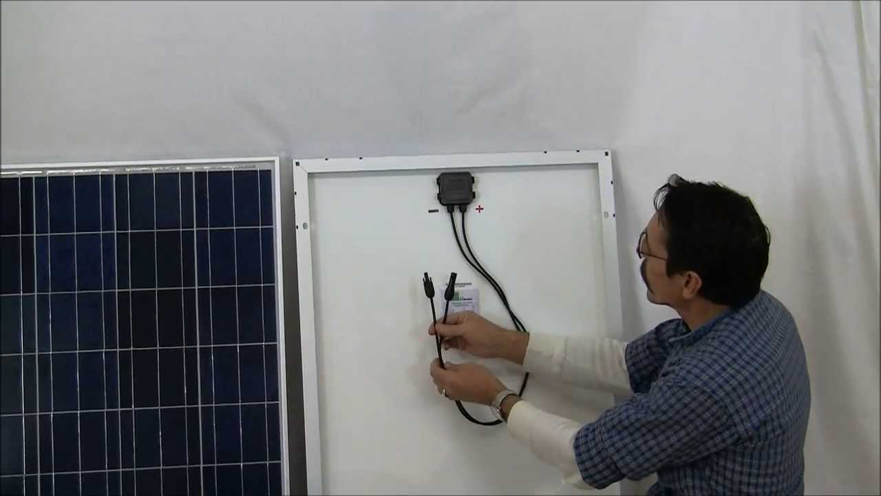 Solar Panels For The Beginner How To Pt 3 Diy By Missouri Wind And Panel Series Wiring Diagram Youtube Premium