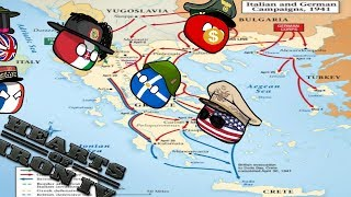 Defend France or Greece...? - Hoi4 MP In A nutshell