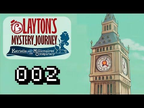 DAS GEHEIMNIS DES BIG BEN !! - Let's Play Laytons Mystery Journey Gameplay #002 [Deutsch]