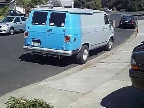 Chevy g10 hot rod van