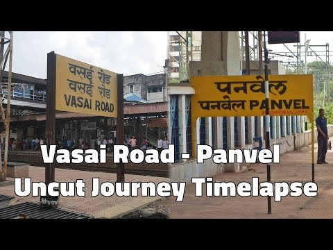 Vasai Road to Panvel Full Uncut Journey Time Lapse | 0.5 Second Time-lapse - Procus Rush