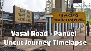 Vasai Road to Panvel Full Uncut Journey Time Lapse | 0.5 Second Time-lapse - Procus Rush
