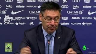 بارتوميو يتلقى خبر تقليص عقوبة مدريد على المباشر - هكذا كانت ردود الأفعال