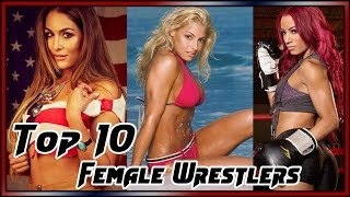 Top 10 wwe womens wrestlers of all time