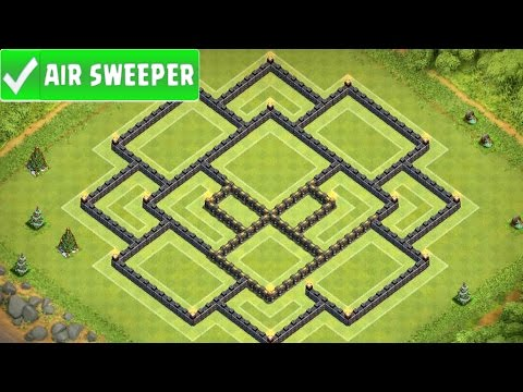 Clash Of Clans | EPIC TOWN HALL 9 FARMING BASE | TH9 BASE w/ Air Sweeper