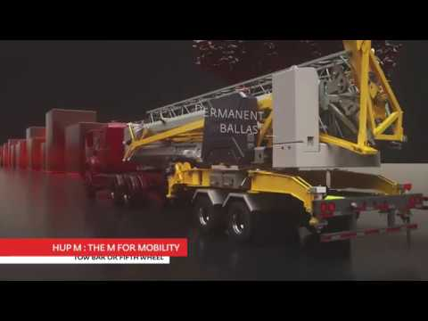 Hup M 28-22 US | The crane for all your projects