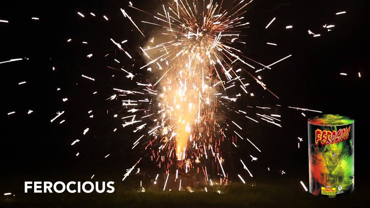 FEROCIOUS - FOUNTAINS - WORLD CLASS FIREWORKS - YouTube