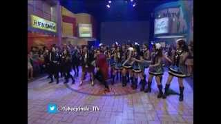 YKS Soimah Feat JKT48 Ngamen 5 [19.04.2014] Yuk Keep Smile Trans TV