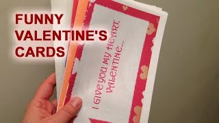 Funny Valentine's Cards [Jersey Joe # 221]