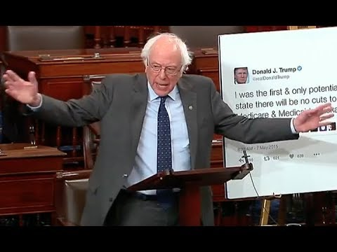 """""""DON'T LIE TO THE AMERICAN PEOPLE!!!"""" Bernie Sanders' BRILLIANT Takedown of Trump's Lies & Hypocrisy"""