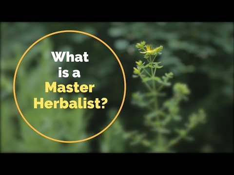 What is a Master Herbalist?