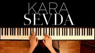 мелодия из сериала Черная любовь на пианино 1 Kara Sevda OST Anlatamam Piano Cover
