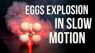 Eggs Explosion in Slow Motion - Slow Mo Lab