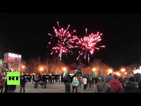 Russia: Sevastopol celebrates anniversary of Crimea referendum