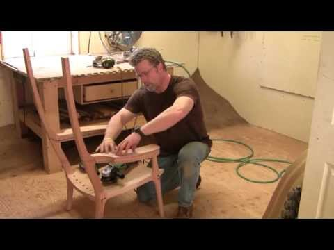 Building an Maloof inspired Elegant Rocking Chair ...
