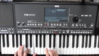 تعليم عزف الكوردات: الدرس الثالث. كوردات مقام عجم (المايجر سكايل) من مفتاح الفا