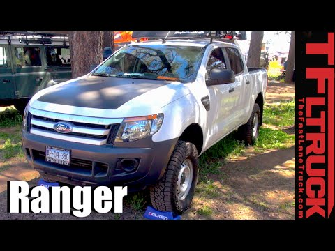revealed mexican sold ford ranger pickup sneaks   border youtube