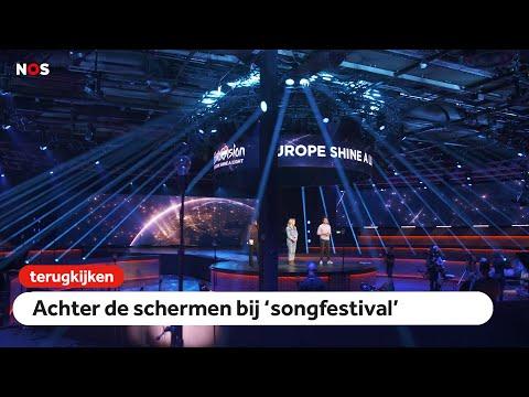 VANAF 19.30: achter de schermen bij 'songfestival'