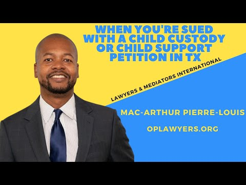 when-you're-sued-with-a-child-custody-or-child-support-petition-in-tx