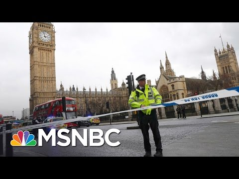 UK's Parliament On Lockdown After Reports Of 'Firearms Incident' | MSNBC