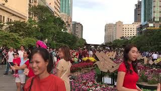 Du Xuân Đường Hoa Nguyễn Huệ ngày đầu năm Kỷ Hợi 2019 ....