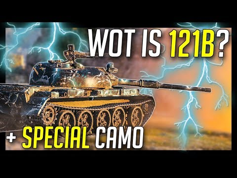 ► WOT is 121B And This Special Camo? - World of Tanks 121B Gameplay thumbnail