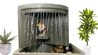Awesome Wonderful Cement Water Fountain | Cemented Life Hacks