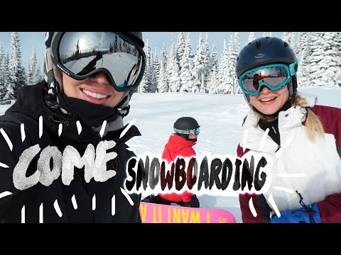 ❄️ Snowboarding SUN PEAKS  😁 Vlog     | Karismas DAY 14