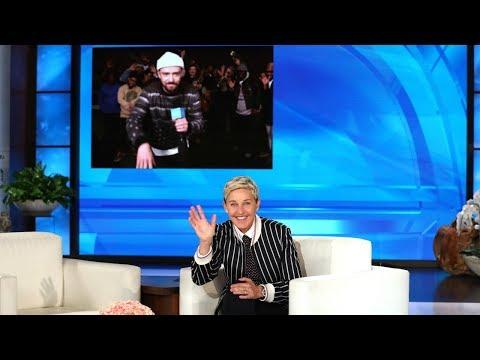 Justin Timberlake Surprises Ellen for Her Birthday! Mp3