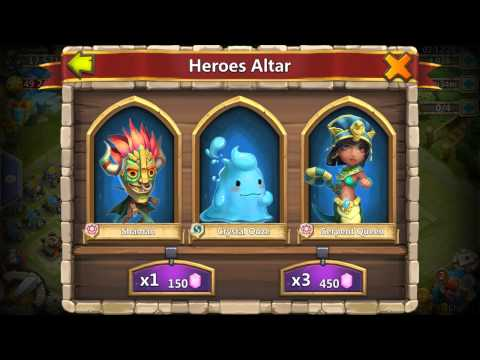 Castle Clash : Rolling For Immortep!