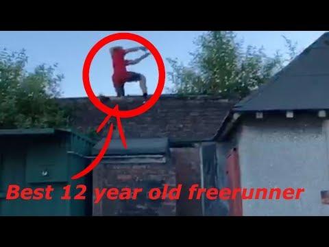 Best 12 year old freerunner
