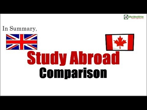 Studying In UK Vs Canada – Which Is Better? Study Abroad Comparison