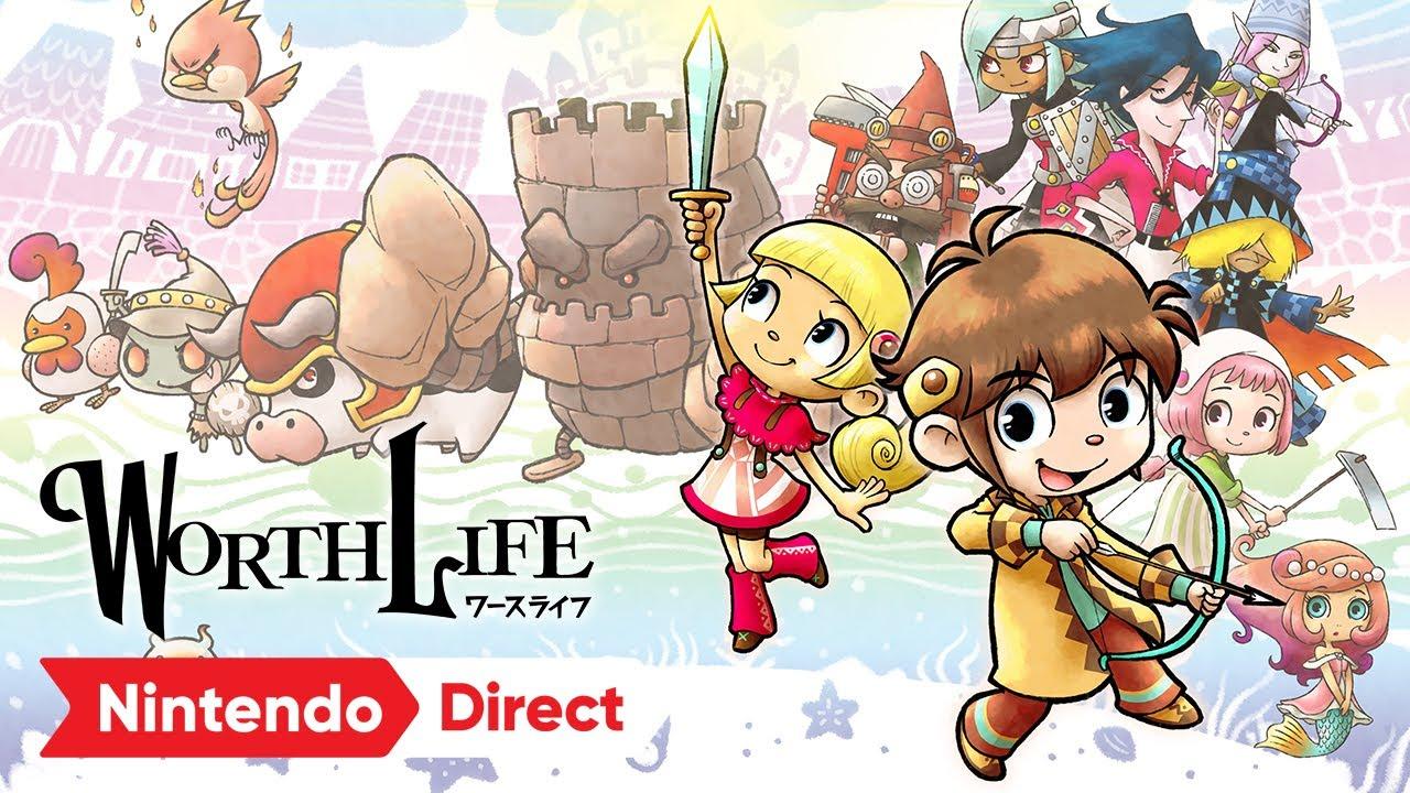 WORTH LIFE(ワースライフ) [Nintendo Direct | E3 2021]