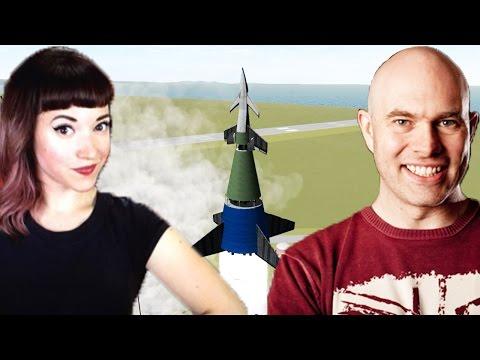 Von Braun's Ferry Rocket: Vintage Space Kerbals with Scott Manley!
