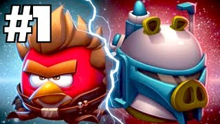 Angry Birds Star Wars 2: RISE OF THE CLONES! Walkthrough Part 1 (iPhone Gameplay)