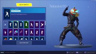 Headbanger NEW Leaked Fortnite Dance Emote EPIC