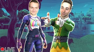 Vulkan in Fortnite bricht aus ?! Random Runden + Zuschauer Games/Turnier Max und Chris Gamblen