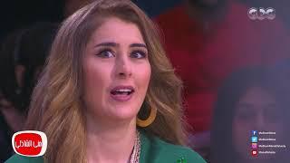 معكم منى الشاذلي - لقاء عائشة بن احمد واحمد خالد صالح ابطال مسلسل نسر الصعيد - الجزء الرابع