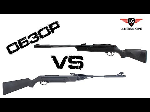 Сравнение лучших бюджетных пневматических винтовок МР-512 VS Hatsan Alpha до 5000 руб.