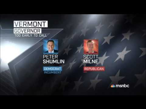 Midterm Election 2014 Coverage (MSNBC) 1/19