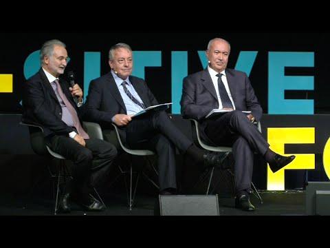Jacques Attali - Antoine Frérot - Fouad Makhzoumi - Positive Economy Forum Le Havre 2014
