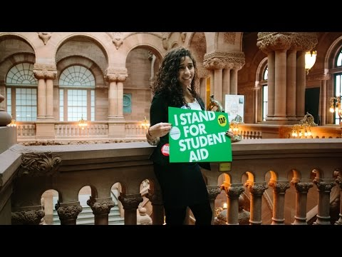 Dear Albany: I Stand for Student Aid